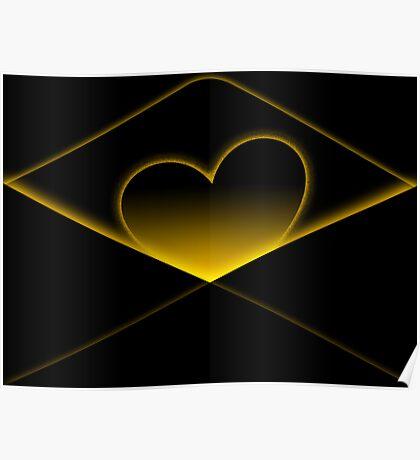 Enclosing my heart inside Poster