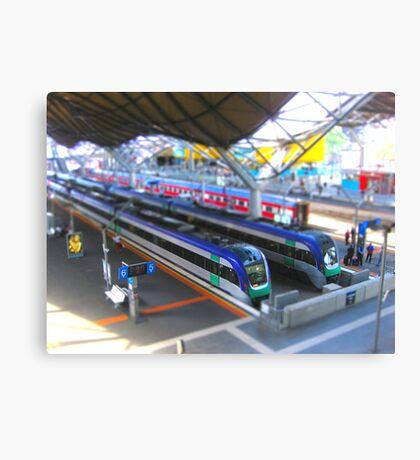 Southern Cross Model Railway Canvas Print