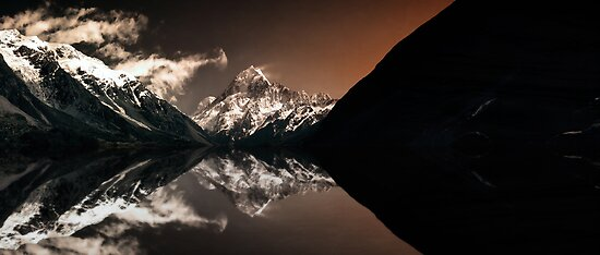Mt Cook Epilogue by Steven  Sandner