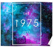 The 1975 Logo Nebula Poster