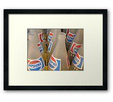 [soda] Framed Print