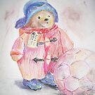 Paddington bear by velvetkatz