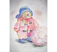 Paddington bear Photographic Print
