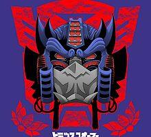 Optimus Shogun by claygrahamart