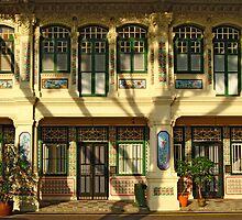 Peranakan houses by richardseah