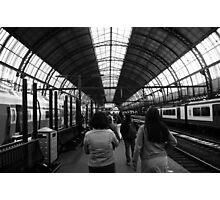 Amsterdam Train Station Photographic Print