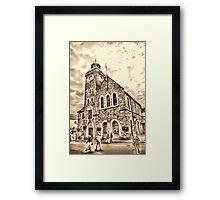 Church in Looe Framed Print