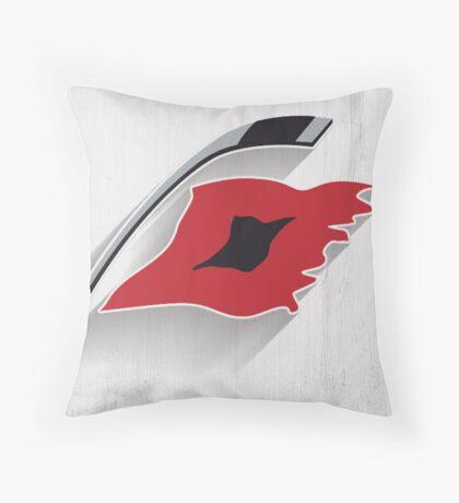 Carolina Hurricanes Minimalist Print Throw Pillow