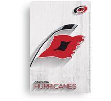 Carolina Hurricanes Minimalist Print Canvas Print