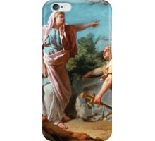 Nicolas-Guy Brenet - Aethra Showing her Son Theseus the Place Where his Father had Hidden his Arms iPhone Case/Skin