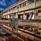 reflections of what used to be by Matthew Jones