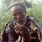 Old Man in Ethiopia by Laurel Talabere