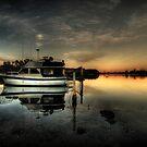reflections on dawn by Matthew Jones