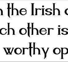 Irish Saying by xorbah