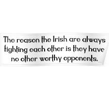 Irish Saying Poster