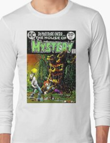 House of Mystery cover Long Sleeve T-Shirt