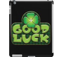 Irish Good Luck Design Saint Patricks Day iPad Case/Skin