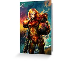 Samus Greeting Card