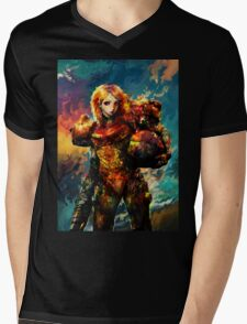 Samus Mens V-Neck T-Shirt