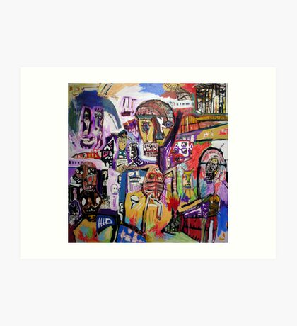 Personal Abstraction Art Print