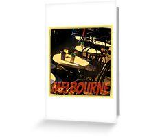 #MELBOURNE,VICTORIA,AUSTRLIA Greeting Card