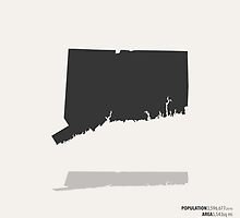 Connecticut Map by FinlayMcNevin