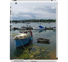 Bembridge Harbour Scene iPad Case/Skin