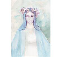 virgin mary Photographic Print