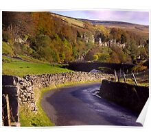 Yorkshire Dales Road Poster