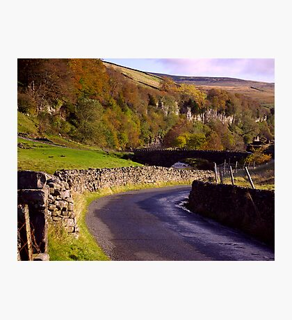 Yorkshire Dales Road Photographic Print