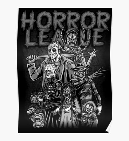 Horror League Poster