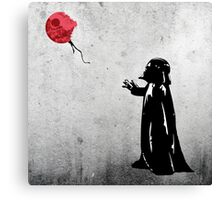 Little Vader Canvas Print