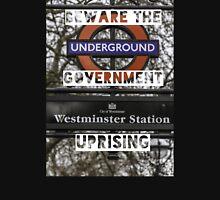 Beware the government uprising Unisex T-Shirt