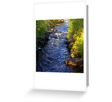 River Swale at Keld - Yorkshire Dales Greeting Card