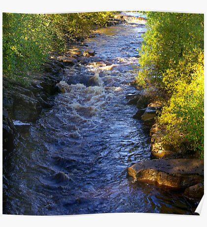 River Swale at Keld - Yorkshire Dales Poster