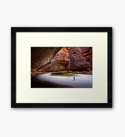 Cathedral Gorge Framed Print