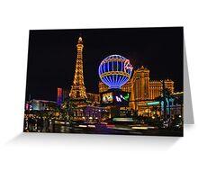 Eiffel Tower in LV Greeting Card