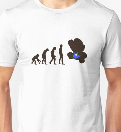 Evolution Mario Unisex T-Shirt