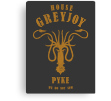 HOUSE GREYJOY 1 Canvas Print