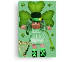 CABBAGE PATCH DOLL GOES IRISH Canvas Print