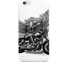 Biker Angel iPhone Case/Skin