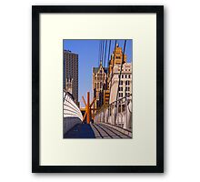 Sunburst Milwaukee Framed Print