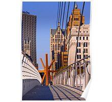 Sunburst Milwaukee Poster