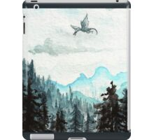 Surveying the slopes  iPad Case/Skin