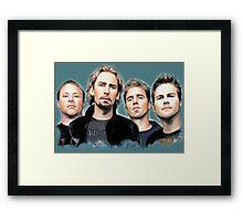 Nickelback Framed Print