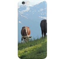 Two Happy Cows iPhone Case/Skin