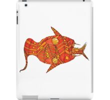 Orange Snake - by Seth Cummins iPad Case/Skin