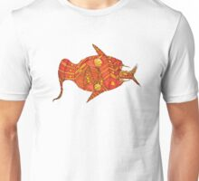 Orange Snake - by Seth Cummins Unisex T-Shirt