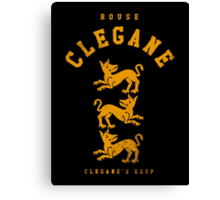 HOUSE CLE Canvas Print