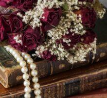 bridal bouquet Sticker